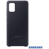 Capa para Galaxy A51 de Silicone Preto - Samsung - EF-PA515TBEGBR