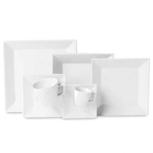 Aparelho de Jantar, Chá e Café Oxford Porcelanas Quartier GM42-2000 - 42 Peças