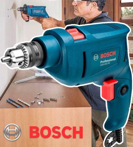 Furadeira de Impacto Bosch GSB 450 RE 450W