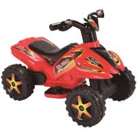 Mini Veículo Elétrico 6V Quadriciclo Quad Raptor - Vermelho
