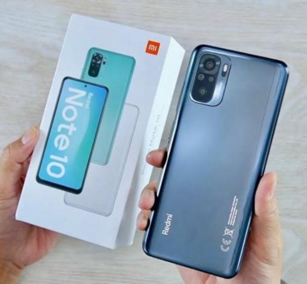 Smartphone Xiaomi Redmi Note 10 128GB 4GB RAM – Onyx Gray