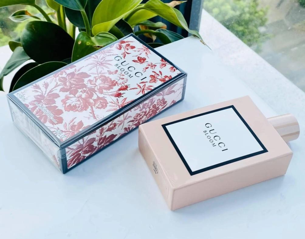 Gucci Bloom Acqua Di Fiori Gucci – Perfume Feminino – Eau de Toilette – 50ml