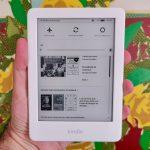 """Kindle 10ª Geração Tela 6"""" 8GB Wi-Fi Luz Embutida – Branco"""
