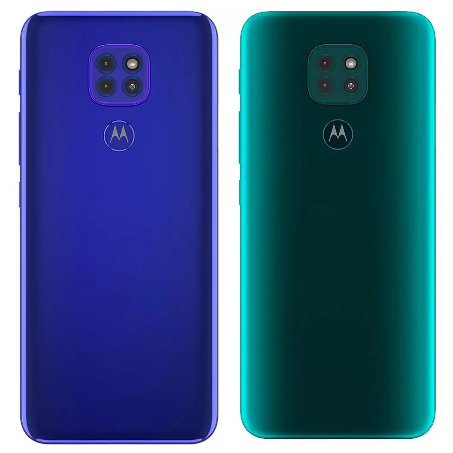 "Smartphone Motorola Moto G9 Play 64GB  – Turquesa 4GB RAM 6,5"" Câm. Tripla + Selfie 8MP"