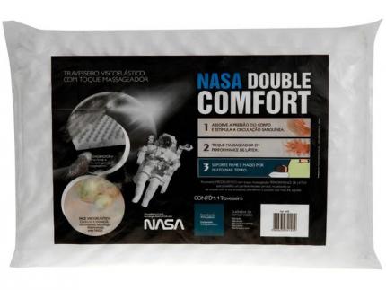 Travesseiro Nasa Fibrasca Viscoelástico – NASA Double Comfort