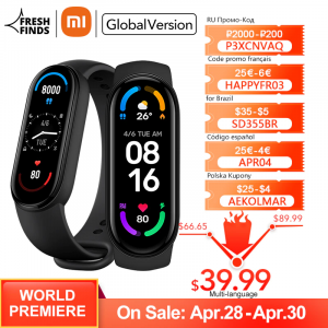 Smartband Xiaomi MI Band 6 - Versão Global