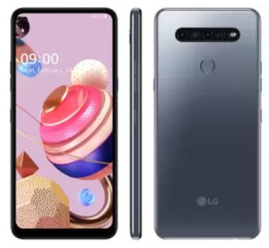 "Smartphone LG K51S 64GB Titânio 4G Octa-Core – 3GB RAM 6,55"" Câm. Quádrupla + Selfie 13MP Prata"