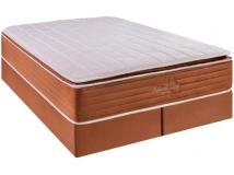 Cama Box Queen (Box + Colchão) Kappesberg – Mola Ensacada 69cm de Altura Natural Sleep