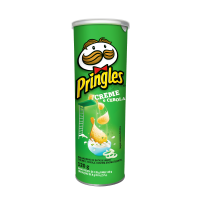 6 Unidades Batata Pringles Creme e Cebola - 120g