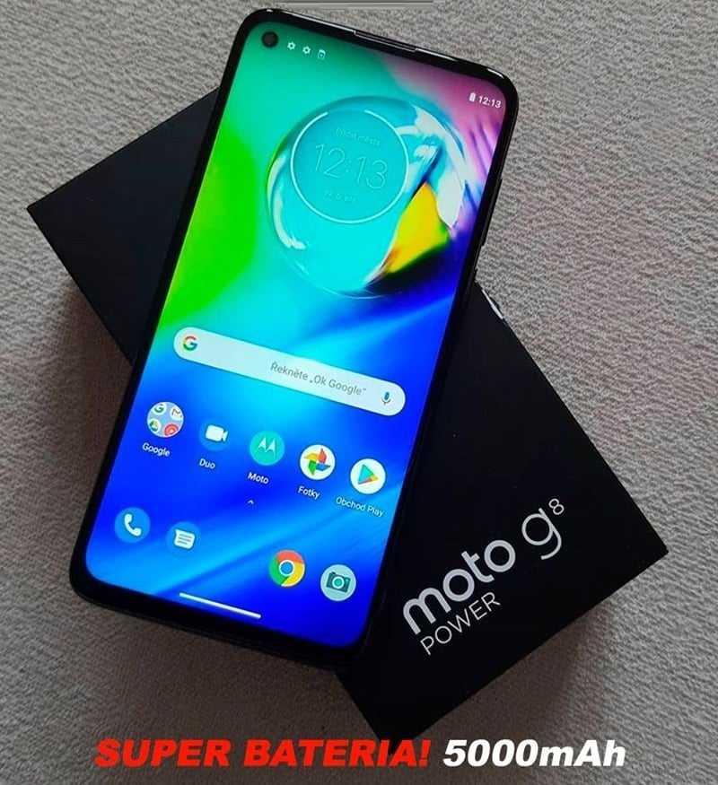 Smartphone Motorola Moto G8 Power 64GB – Azul Atlântico