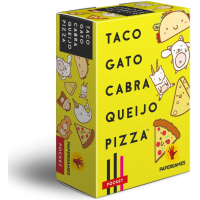 Jogo de Cartas Taco Gato Cabra Queijo Pizza