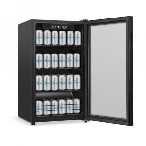 Refrigerador Cervejeira Midea Frost Free Porta de Vidro Triplo 96L - BCA10P