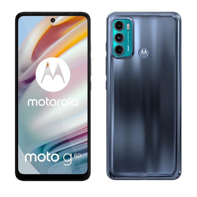 Smartphone Motorola Moto G60 128GB Azul 4G Tela 6.5″ Câmera Tripla 108MP Selfie 32MP Android 11