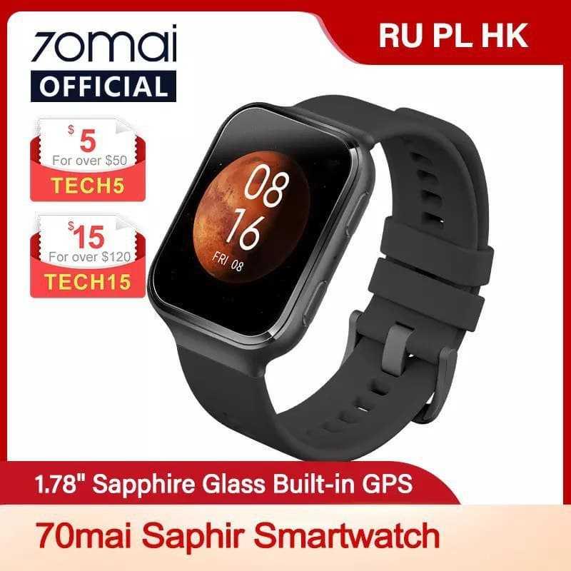 Xiaomi Ecosystem 70mai Saphir GPS Smart Watch