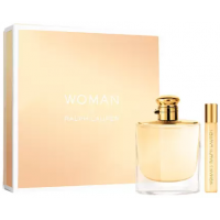 Perfume Feminino Ralph Lauren Woman Kit Edp 100ml + Miniatura 10ml