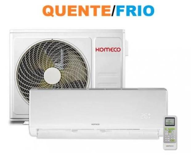 Ar Condicionado Split 12000 BTUs Quente e Frio Komeco On/Off KAC-12CHSA1 220V