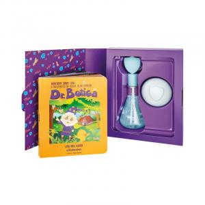 Kit Colônia Infantil Dr. Botica Coragem 120ml + Sabonete Barra 80g + Livro Para Colorir