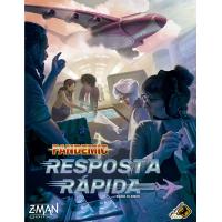 Jogo de Tabuleiro Pandemic: Resposta Rápida - Galápagos Jogos
