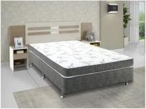 [R$649,79 A VISTA] Cama Box Casal Ortobom Physical Spring Gray