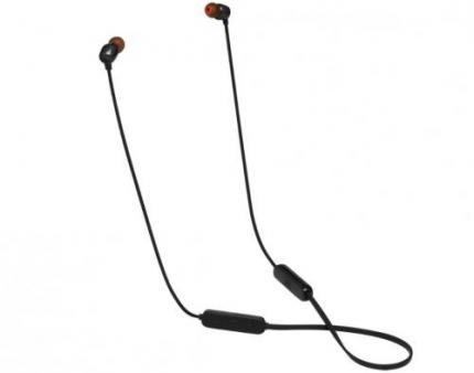 JBL T115BT – Fone de Ouvido In-Ear com Microfone Bluetooth Pure Bass Preto