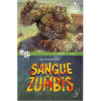 Livro Jogo Sangue de Zumbi - Ian Livingstone