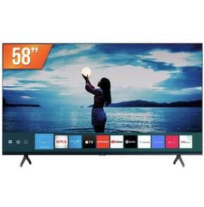 "Smart TV LED 58"" Ultra HD 4K Samsung 58TU7020 Crystal"