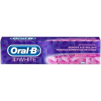 2 Unidades Creme Dental Oral-B 3D White - 70g
