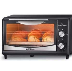 Forno Elétrico Mondial Pratic Cook FR-09 - 6L