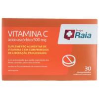 Vitamina C Droga Raia 500mg com 30 comprimidos