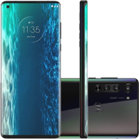 "Smartphone Motorola Edge 128GB Solar Black 6GB RAM - 6,7"" Câm. Quádrupla + Selfie 25MP"