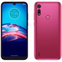 "Smartphone Motorola Moto E6i 32GB Pink - 4G 2GB RAM Tela 6,1"" Câm Dupla + Selfie 5MP"