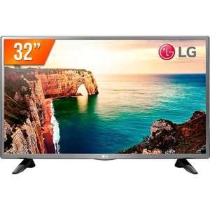 """[Reembalado] TV LED 32"""" LG 32LT330HBSB Modo Hotel Preta"""