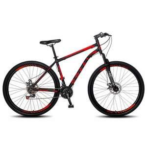 Bicicleta Colli Bike Freio a Disco com 21 Marchas e Aro 29