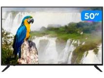 "Smart TV 4K HQLED 50"" JVC LT-50MB708 Android – Wi-Fi Bluetooth HDR"