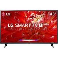 Smart TV LED 43'' Full HD LG 43LM6300 3 HDMI 2 USB Wi-Fi ThinQ AI