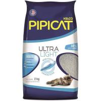 Areia Sanitária para Gatos Pipicat Ultra Light