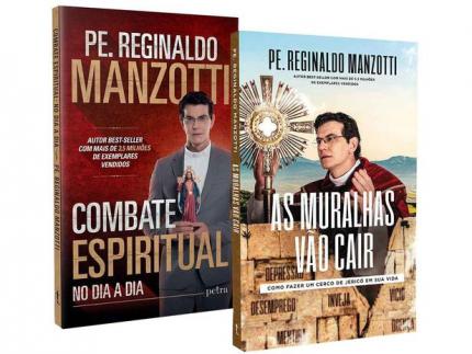Kit Livros Combate Espiritual no Dia a Dia e – As Muralhas Vão Cair Reginaldo Manzotti