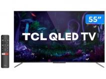 "[PARCELADA] Smart TV 4K QLED 55"" TCL Android"