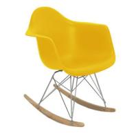 Poltrona Eames DAR Balanço OR-1122 – Or Design - Amarelo - Marketplace