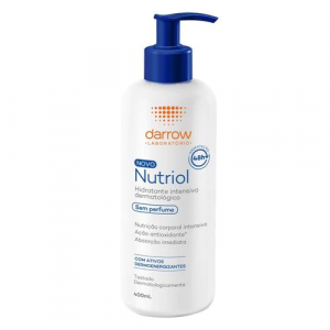 Loção Hidratante Darrow Nutriol - Sem Perfume 400ml