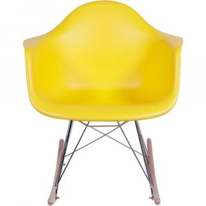 Poltrona Eames Dar Balanço OR -1122 – OR Design - Amarelo