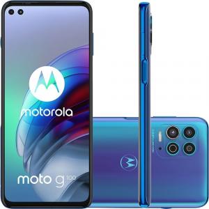 Smartphone Motorola G100 256GB 5G Wi -Fi Tela 6.7'' Dual Chip 12GB RAM