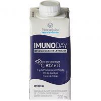 Bebida Láctea Piracanjuba Imunoday Sabor Original 200 Ml, Branco - 5 Unidades