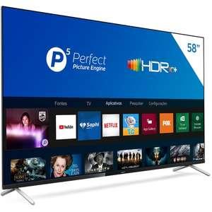 "[App] Smart TV LED 58"" Philips 58PUG7625/78 UHD 4K, P5, HDR10+, Dolby Vision Atmos"