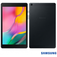 "Tablet Samsung Galaxy Tab A8 Preto 8"" Wi-Fi Android 9.0 Processador Quad-Core 2.0 GHz e 32GB"