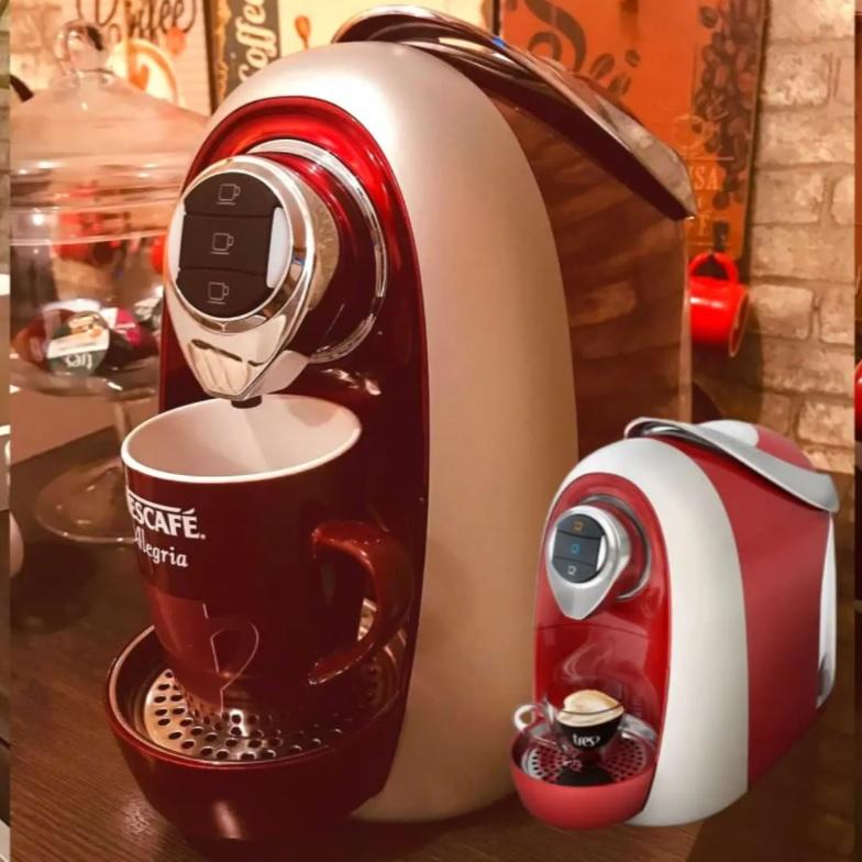 Cafeteira Espresso TRES Modo S04 Multibebidas – Vermelha