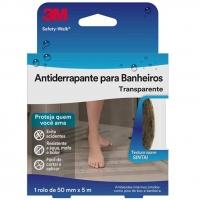 Fita Antiderrapante Para Banheiros 3M  Safety-Walk Transparente - 50 mm X 5 M
