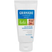 Talco em Gel Dermocalmante para bebê com Pele Sensível 80g - Granado