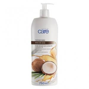 Loção Desodorante Corporal Óleo de Coco Avon Care 750ml - Avon