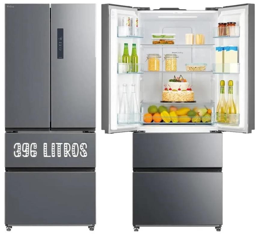 Refrigerador philco 396l inx 127 prf406i – 129966